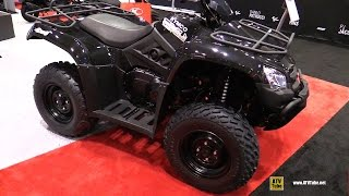 7. 2016 Kymco MXU 450 Recreational ATV - Walkaround - 2015 AIMEXPO Orlando