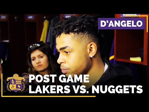 Video: D'Angelo Russell After 1st NBA 10 Assist Game: 'Proud Of Myself'