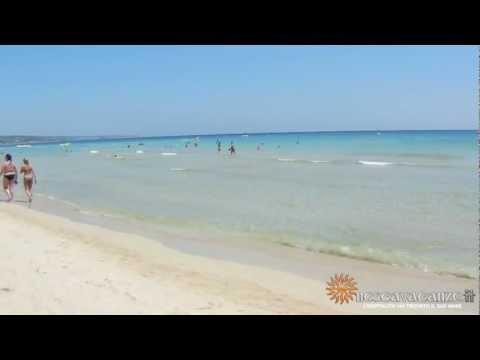 la spiaggia di pescoluse, le maldive del salento