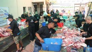 بتكلفة ربع مليون شيكل واستفادة 1000 عائلة أتمت جمعية يافا مشروع الأضاحي لهذا العام