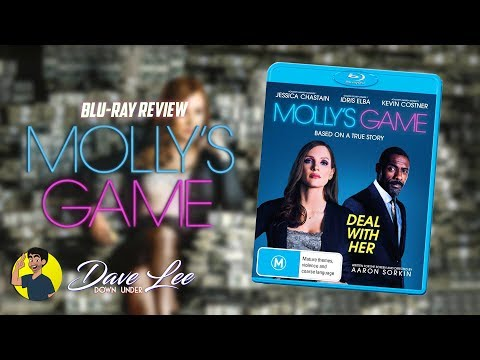 MOLLY'S GAME - Blu-ray Review