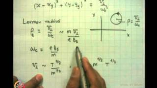 Mod-01 Lec-20 Single Particle Motion In Static Magnetic And Electric Fields