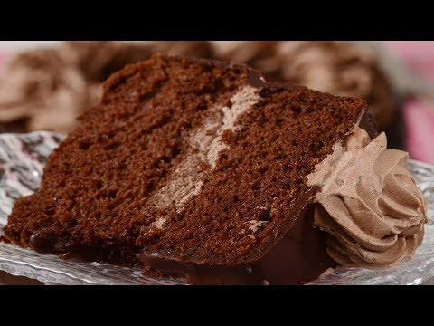 Chocolate Chiffon Cake Recipe Demonstration – Joyofbaking.com