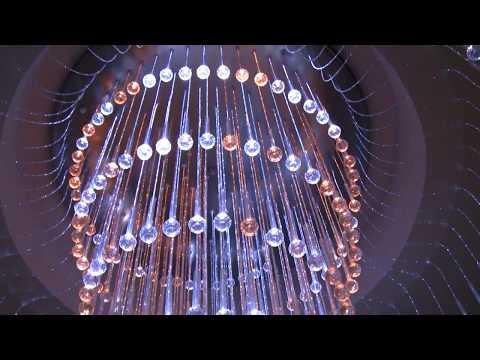 Żyrandole światłowodowe, żyrandol
