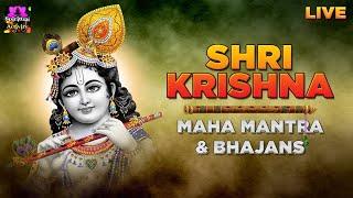 Video NONSTOP Shri Krishna Maha Mantra & Bhajan - HARE KRISHNA HARE RAMA || VERY BEAUTIFUL || LIVE download in MP3, 3GP, MP4, WEBM, AVI, FLV January 2017