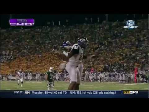 Ladarius Brown 43-yard touchdown catch vs Baylor 2012 video.