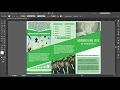 How to make Brochure  in Illustrator cc