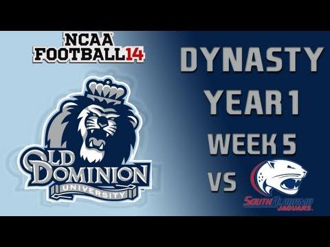 NCAA Football 14 Dynasty - Old Dominion: Episode 6