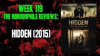 Nonton Week 119  The Horrorphile Reviews  Hidden  2015  Film Subtitle Indonesia Streaming Movie Download