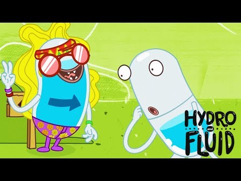 HYDRO And FLUID | Aquatic Illusion | HD Full Episodes | Funny Cartoons For Children
