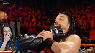 Nonton WWE Raw 3/6/17 The Undertaker Chokeslams Roman Reigns Film Subtitle Indonesia Streaming Movie Download