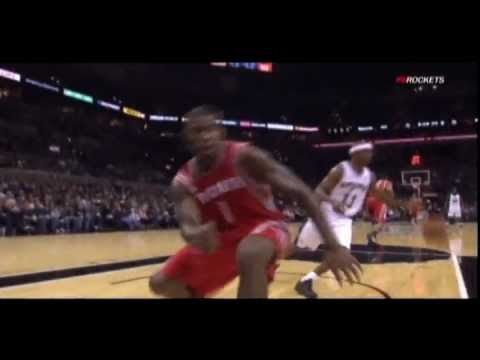 Jonny Flynn to Terrence Williams fast break slam