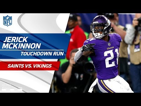 Video: Sherels' Huge Punt Return Sets Up McKinnon's TD Run! | Saints vs. Vikings | NFL Divisional HLs