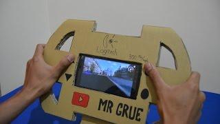Video Menakjubkan! Membuat Gaming Steering Wheel untuk smartphone dari kardus- Membuat Sendiri Di Rumah MP3, 3GP, MP4, WEBM, AVI, FLV Oktober 2017