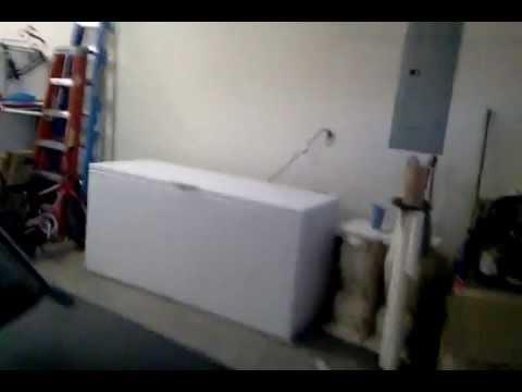 New HUGE NEW! Freezer in my garage