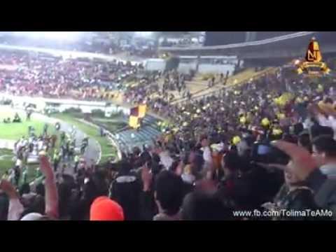 Fiesta en la Tribuna de El Campín - ¡Deportes Tolima Campeón! - Revolución Vinotinto Sur - Tolima