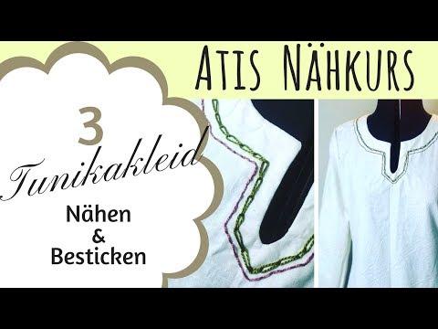 Tunika Kleid selbst nähen / Mittelalter / Gewandung / Atis Nähkurs