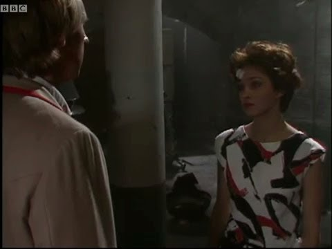Tegan says goodbye to the Doctor