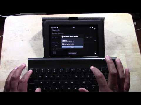Kindle Fire HD: How to Connect a Bluetooth (Wireless) Keyboard | H2TechVideos
