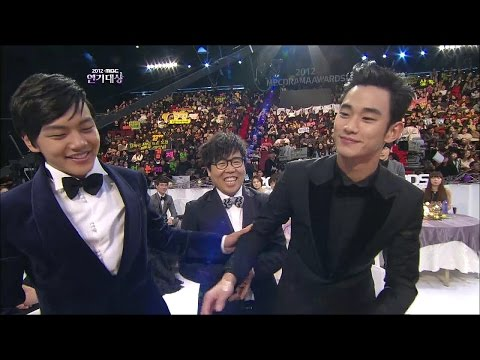 【TVPP】Kim Soo Hyun - 2012 MBC Drama Awards 'Best Actor', 2012 연기대상 '최우수 연기상' @ 2012 MBC Drama Awards