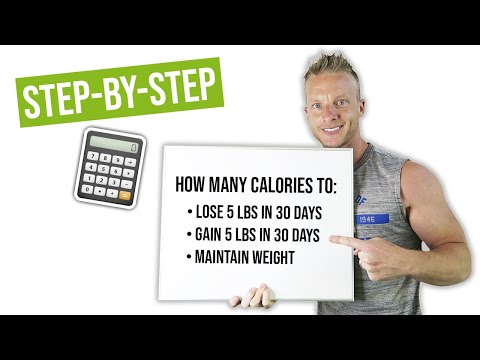 How Many Calories Should I Eat To Lose 5 Pounds in 30 Days #LLTV