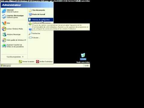 comment retrouver mon mot de passe wifi sur windows xp
