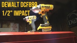 Initial Impressions of the Dewalt DCF899 1/2