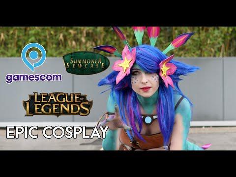 Gamescom 2019 - Epic League of Legends Cosplay