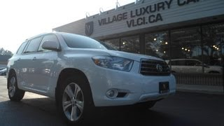 2008 Toyota Highlander In Review - Village Luxury Cars Toronto