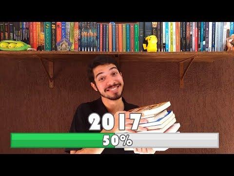 50 %: Melhores e Piores leituras de 2017 (Até Agora) | TAG | O Refúgio