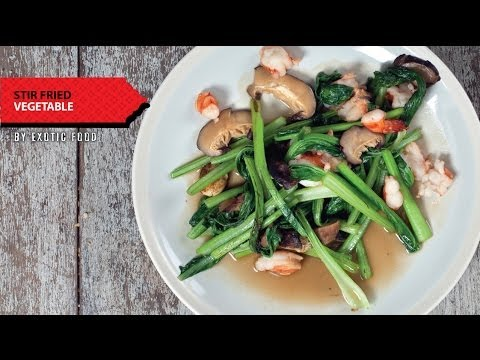 How to make Thai food at home – Stir Fried Vegetables