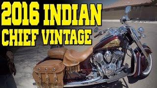 8. 2016 Indian Chief Vintage Walk-Around