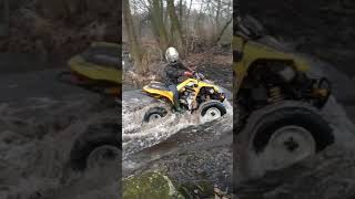 9. Quad Can Am ds 250 vs Explorer Lc 150.Listopad 2017r.