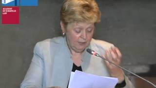Françoise Tulkens - Human Rights Law - Distinguished Lecture