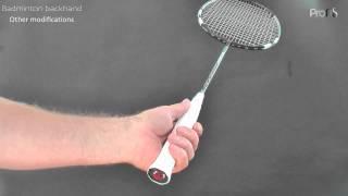 Video Badminton backhand - 1 of 3  grip MP3, 3GP, MP4, WEBM, AVI, FLV Agustus 2018