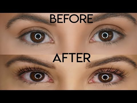 Lash Lift & Tint: See My Eyelashes Before & After!