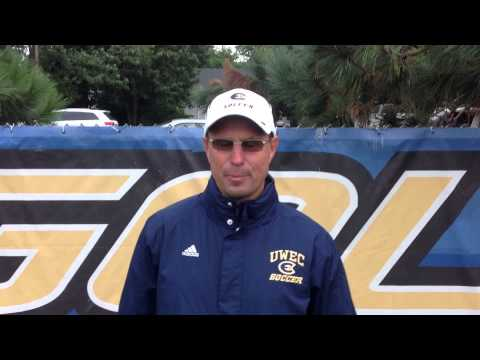 Women's Soccer - UW-Eau Claire vs. St. Olaf, MN - Coach Yengo Post-Game