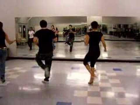 Salomon показывает танец Salsa Shine