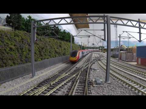 11 Car Hornby Pendolino Running session