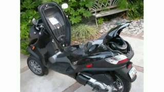 5. 2009 Piaggio MP3 Three Wheeler 400  Transmission Info