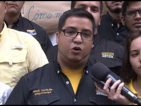 Miguel Castejón: Los jóvenes justicieros seguimos en las calles llevando el mensaje del cambio