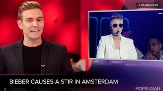 Justin Bieber's Controversial Comment About Anne Frank, And More! | POPSUGAR News