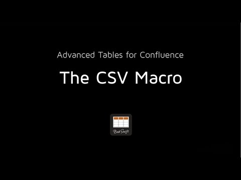 CSV Macro Overview - Bob Swift