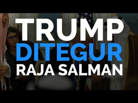 Trump Ditegur Raja Salman