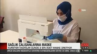 Maske Üretimi - Cnn Türk