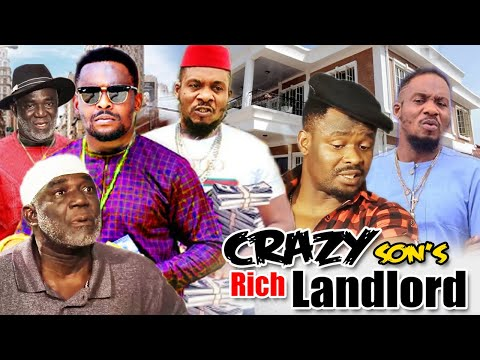 Crazy Son's Of A Rich Landlord Part 3&4 - Zubby Michael & Jnr Pope Latest Nigerian Nollywood Movies.