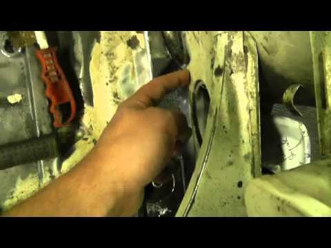 1973 Porsche 914   L Front panel repair Part 3