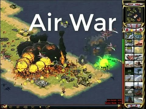 Red Alert 2 - Air Warfare On The Sea Map