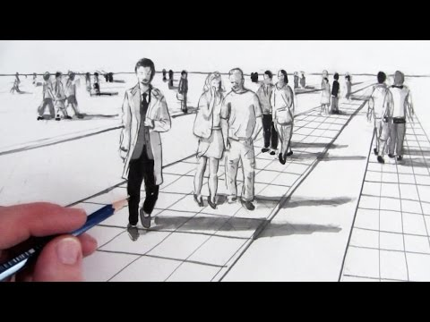How to Draw People in Perspective