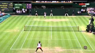 Tennis Highlights, Video - Sabine lisicki vs serena williams wimbledon 2013